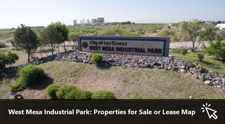 West Mesa Industrial Park Properties for Sale or Lease Map