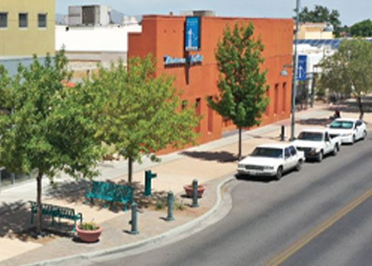 Aerial View of Downtown Las Cruces
