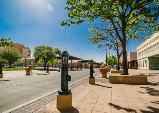 Las Cruces Downtown area
